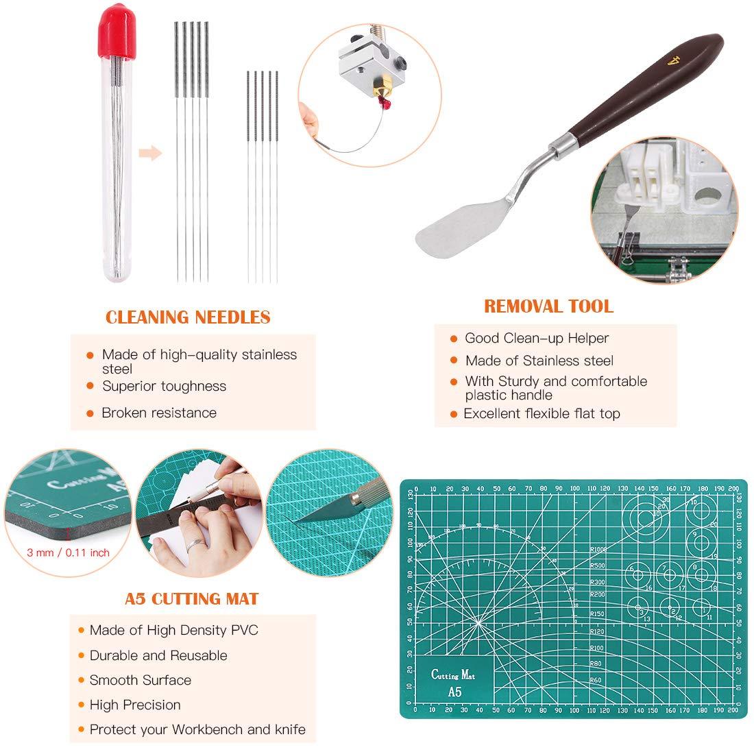 Amazon.com: Rustark - Juego de herramientas de impresión 3D ...
