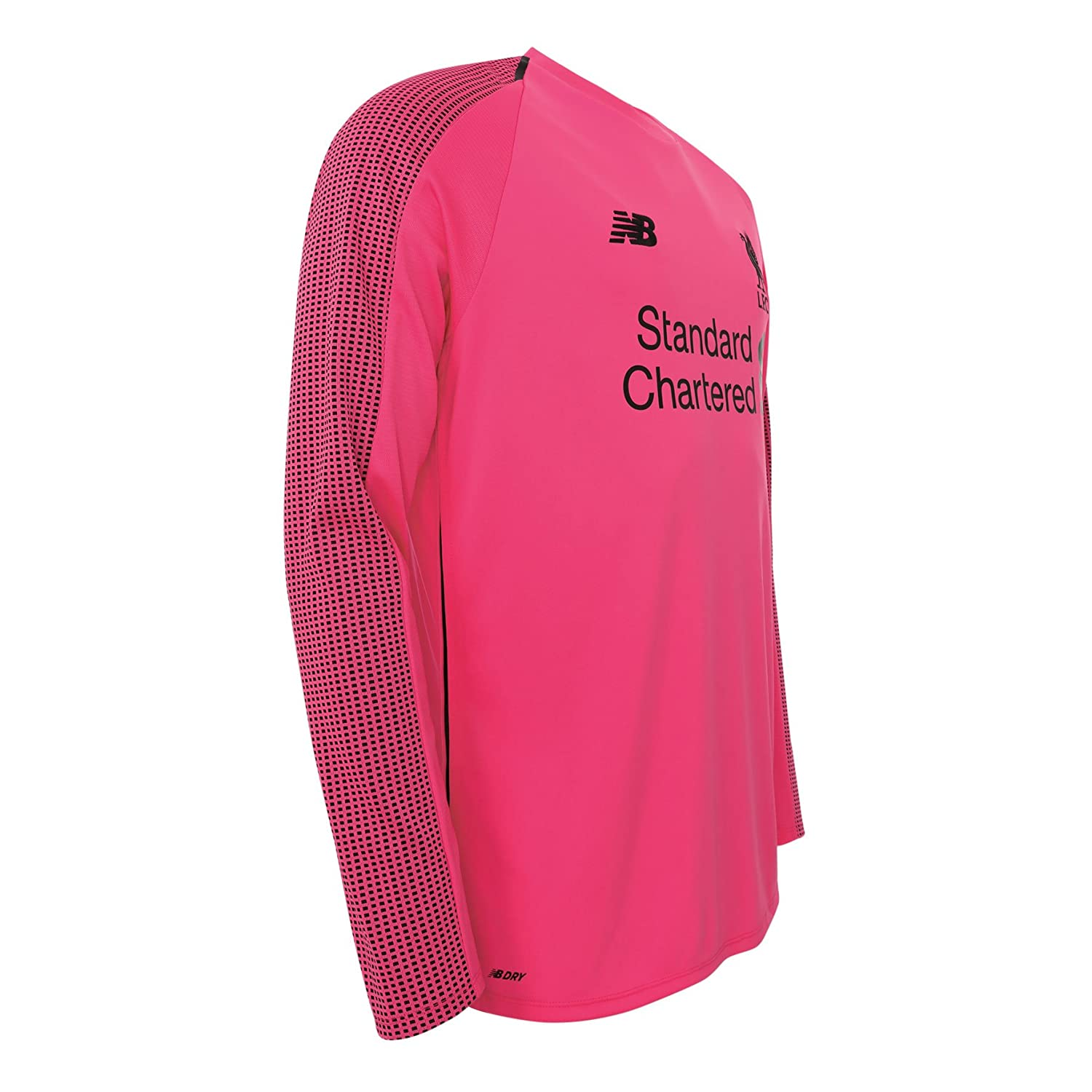 418db8f97 New Balace Liverpool FC Long Sleeve Pink Boys Football Goalkeeper Third  Shirt 18 19 LFC Official  Amazon.co.uk  Sports   Outdoors
