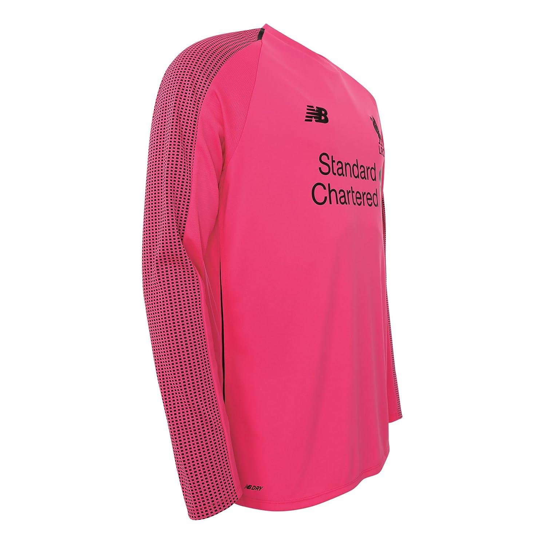 low priced 4220b da106 New Balace Liverpool FC Long Sleeve Pink Boys Football ...