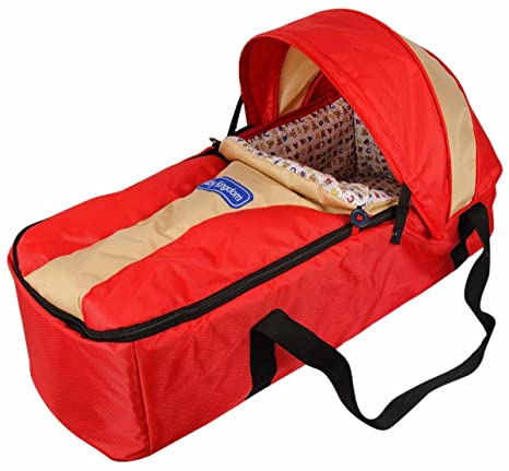 b0d0f6fe76b6 Buy Ollington Street Baby Carry Cot - Red Online at Low Prices in India -  Amazon.in