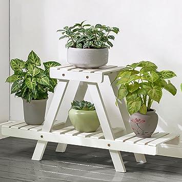 Amazon.de: Floor-mounted Blumenregale, Bambus mehrschichtige ...