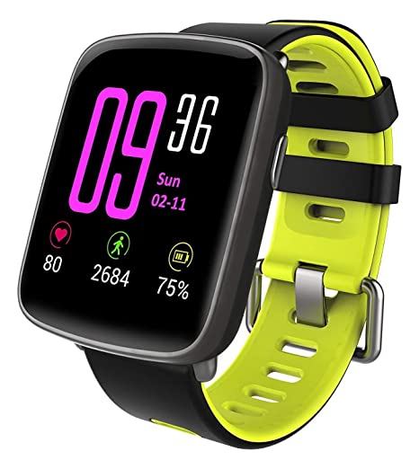Amazon.com: Reloj inteligente Smartwatch impermeable IP68 ...
