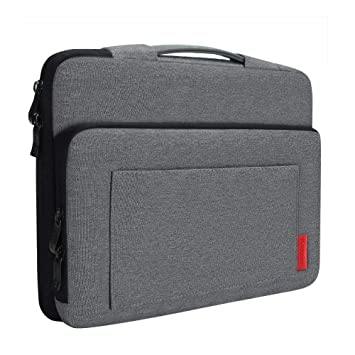 Dark Gray CASE13H iCozzier 13-13.3 Inch Laptop Sleeve Handbag with Side Organizer//Multifunctional Protective Case Cover Bag//Electronic Accessories Storage Laptop Briefcase for Ultrabook//Notebook//MacBook
