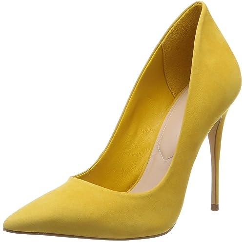 2141b75e439344 ALDO Damen Cassedy Pumps Gelb (Yellow Miscellaneous 67) 36 EU