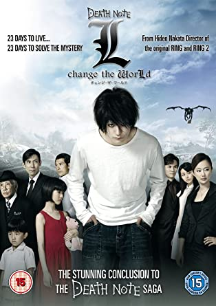Amazon com: NEW Death Note: L Change The World (DVD): Movies