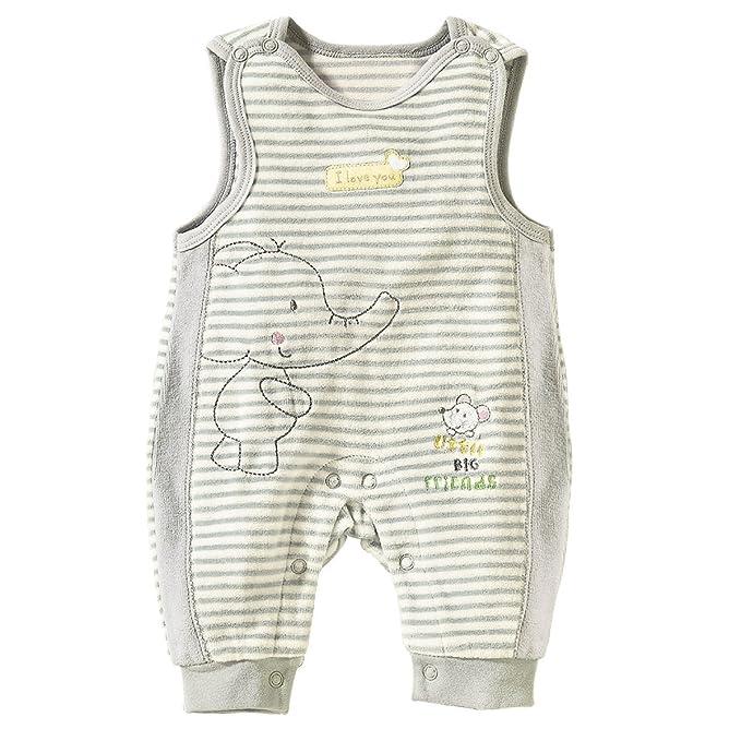 Bornino - Pelele - para bebé niño gris gris: Amazon.es: Ropa y accesorios