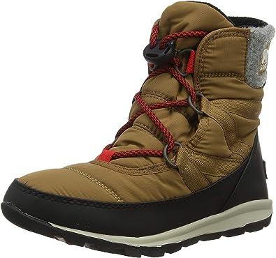 Columbia Womens 6 7 Cozy Explorer Boot Waterproof Sneaker Style Winter Snow Red