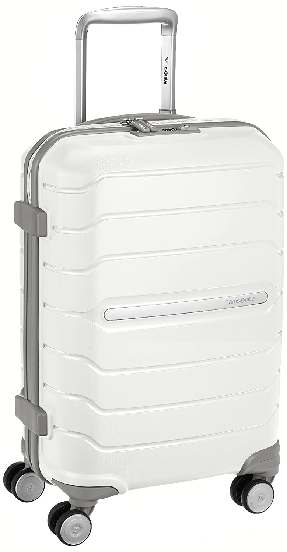 [サムソナイト] スーツケース OCTLITE オクトライ ト スピナー55 35L 2.5kg 機内持込可 保証付 (現行モデル) B018NJ1LAM ホワイト ホワイト
