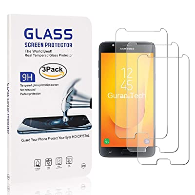 The Grafu Screen Protector Tempered Glass for Galaxy J7 Duo, High Transparency, Anti Fingerprint, Anti Scratch Screen Protector for Samsung Galaxy J7 Duo, 3 Pack: Baby