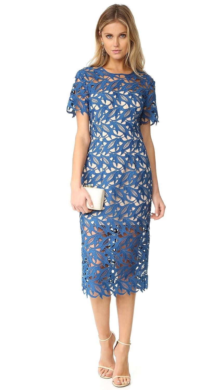 Amazon.com: Keepsake Women\'s The Moment Lace Dress, Marine Blue, X ...
