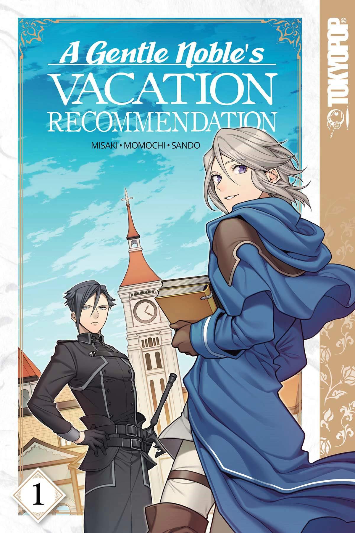 A Gentle Noble's Vacation Recommendation, Vol. 1: Momochi, Misaki ...