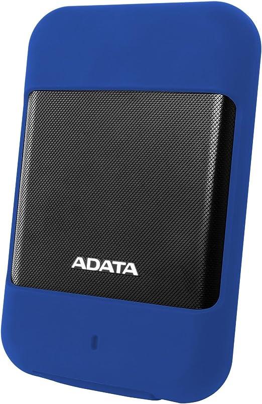 ADATA 2.5インチ ポータブルHDD HD700シリーズ 2TB USB3.0対応 防水・防塵性 Gショックセンサー搭載 3年保証 ブルー AHD700-2TU3-CBL