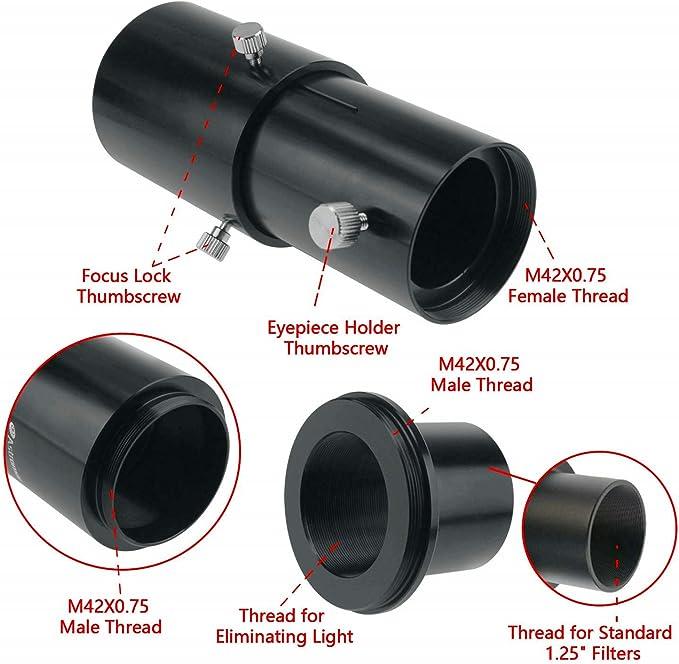 Kit de adaptador de cámara para telescopio de lujo para Canon EOS ...
