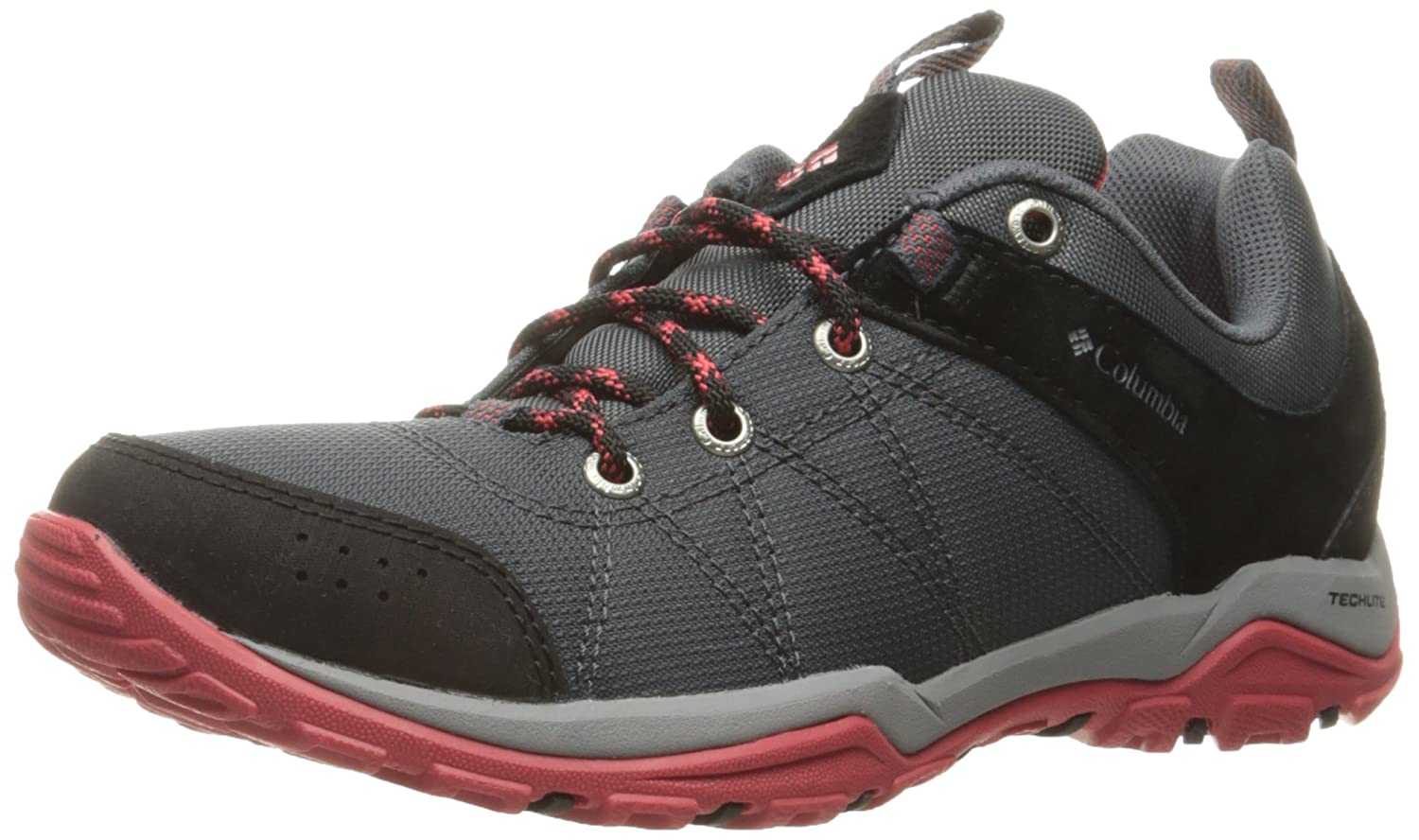 Columbia レディース WOMEN'S FIRE VENTURE TEXTILE B01HEH45LQ 5.5 Regular US|Graphite, Sunset Red Graphite, Sunset Red 5.5 Regular US