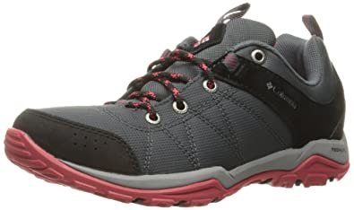 Columbia Fire Venture Textile Shoes Women graphite/sunset red US 6 QUjNc8dDpW