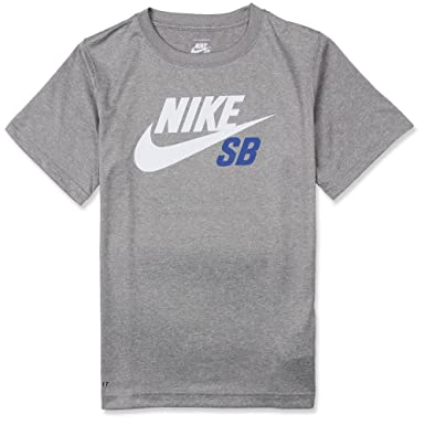 9fcf24c3e Nike SB Boys Grey t-shirt Nike Dri-Fit t-shirt Ages 3-4y 4-5y 5-6y ...