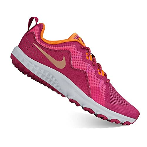 quality design fdc0d eb151 Image Unavailable. Image not available for. Color  Nike Grade School Girls  Mak Trail Running Shoes Size 5 Y Pink