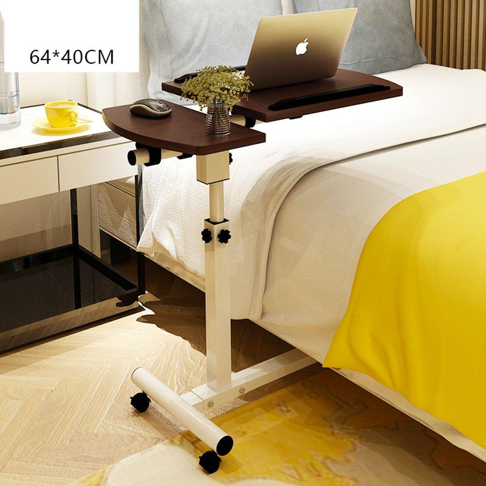 YNN ラップトップテーブルベッド学習家庭用リフト折り畳み式モバイルベッドサイドテーブル (色 : D) B07DS36QS1 D D