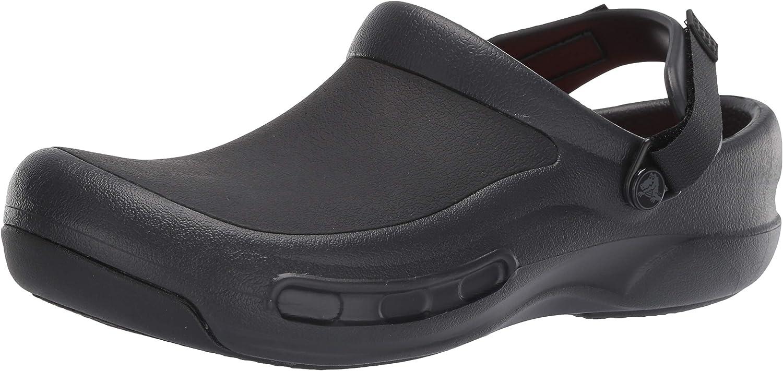 | Crocs Unisex-Adult Men's and Women's Bistro Pro Literide Clog | Comfortable Work Shoes | Mules & Clogs
