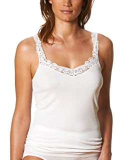 5d481df053 Mey Womens Fine Cotton Cami Top 25710  Amazon.co.uk  Clothing