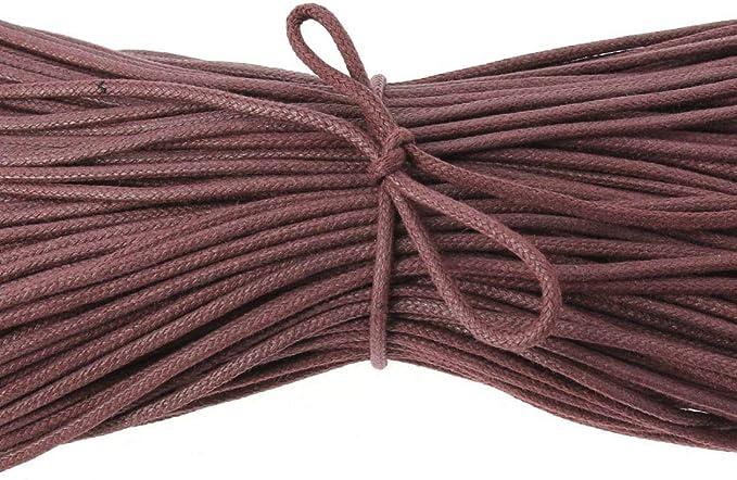 Uni Coton Fabriqu/é en France. Lacet rond et /épais Les lacets Fran/çais 3,5mm Brun