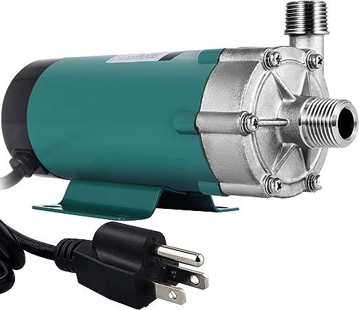 Magnetic Fermentation Beer Pump Stainless Steel Temperature Resistant 140℃ 1PCS