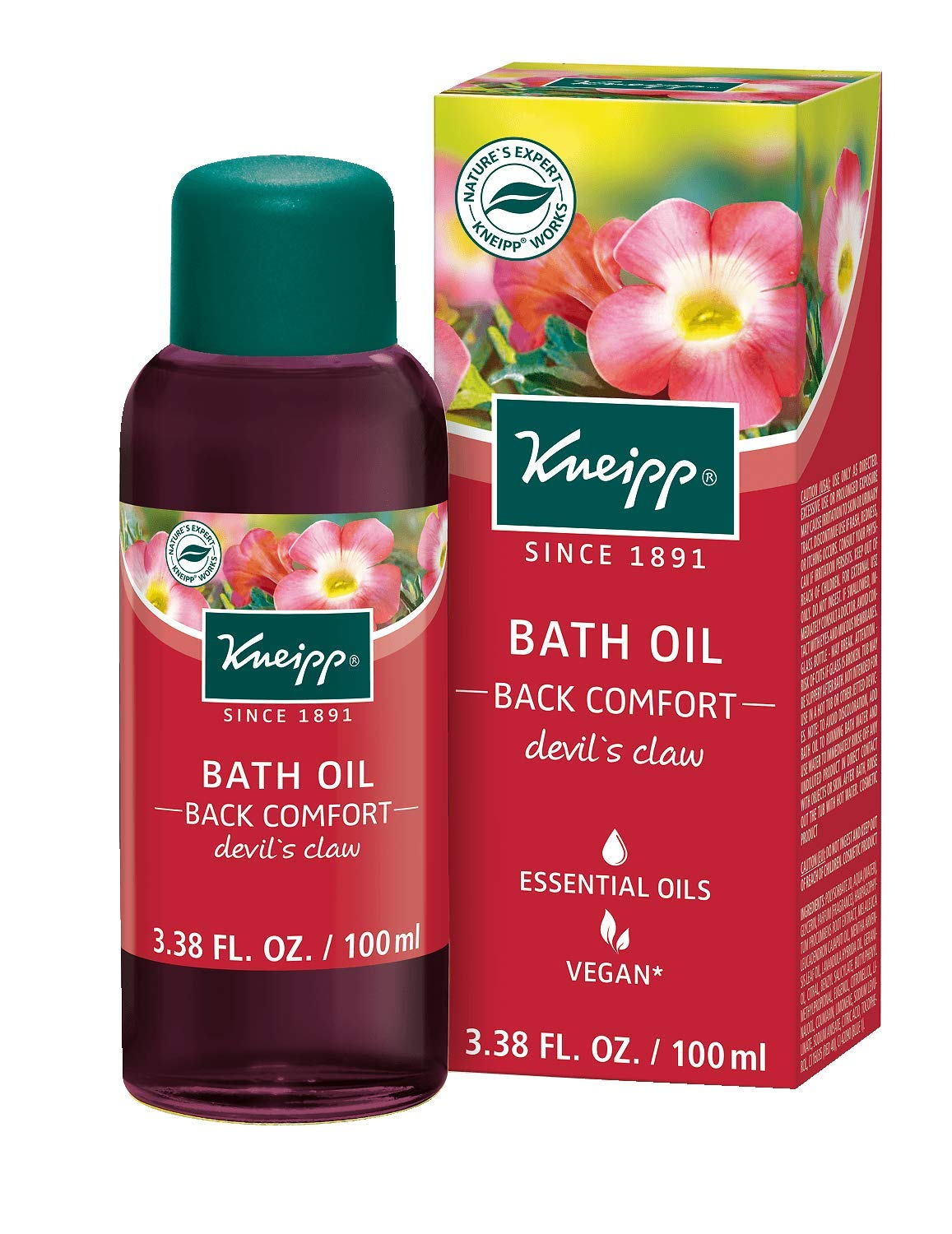 Kneipp Devils Claw Back Comfort Herbal Bath 100 ml HealthCenter KP051