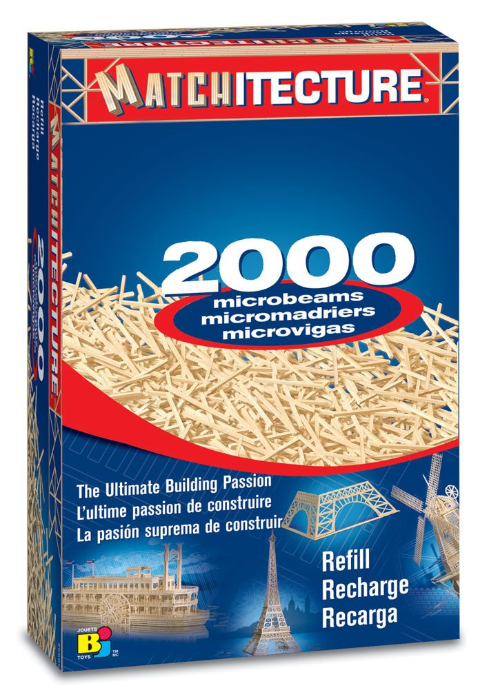 Bojeux Matchitecture Microbeams Refill Model Kit (2000-Piece)