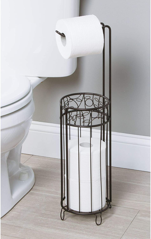 sahnah Amazing Durable Bathroom Accessories Stainless Steel Toilet Paper Holder Tissue Holder Roll Paper Holder Box