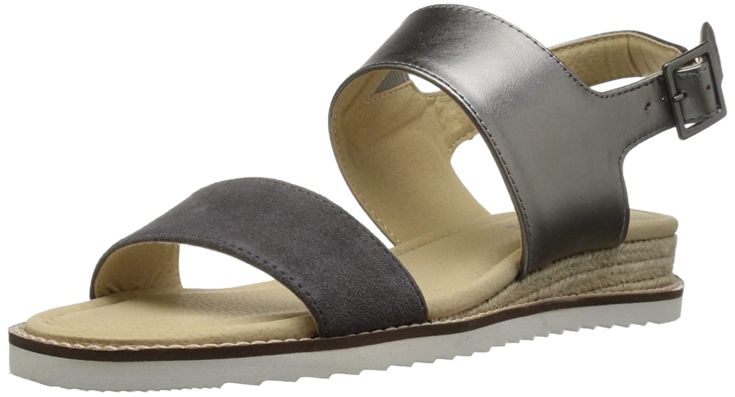 JBU by Jambu Women's Myrtle Wedge Sandal B01IFQ79NG 7.5 B(M) US|Charcoal