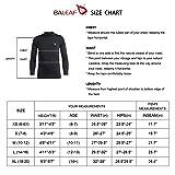 BALEAF Youth Boys' & Girls' Compression Thermal