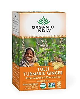 Organic India 840053 Turmeric Tea