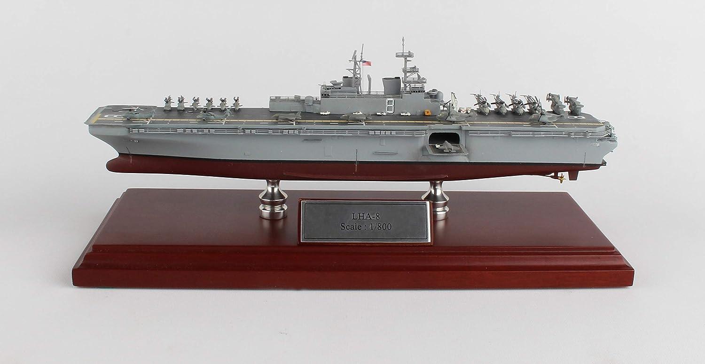 Amazon.com: USS Nimitz Madera Modelo Ship: Toys & Games