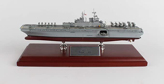 Amazon.com: USS Nimitz Madera Modelo Ship: Toys & Games