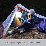 LuminAID PackLite Max 2-in-1 Camping Lantern and