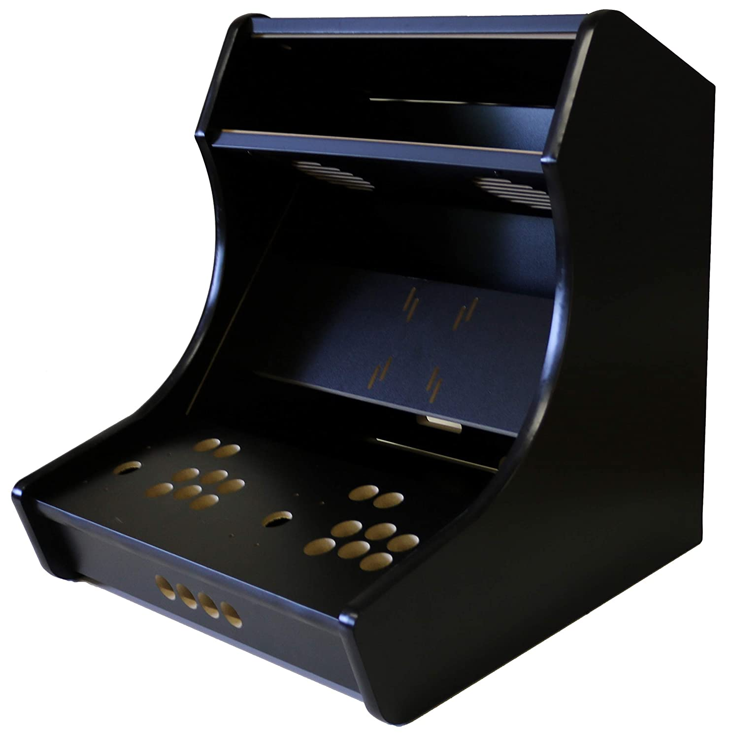 Gameroomsolutions Deluxe Bartop Arcade Cabinet Kit Easy Assembly