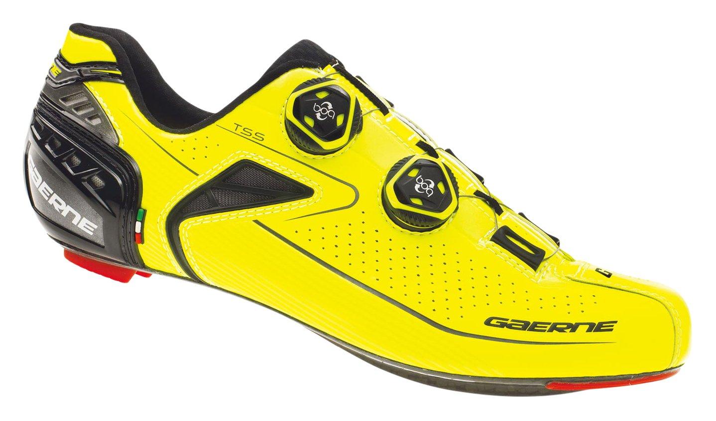 gaerne(ガエルネ) シューズ ビンディング 自転車 ロードバイク カーボン Gクロノ+ イエロー 26.5 3603-009-265 B077Y9YZKY
