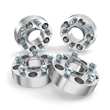 Amazon Com 4pc 2 Thick Hubcentric Wheel Spacers 5x5 To 5x5
