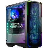 BitFenix Enso Mesh RGB Midi Tower - Estuche para PC - Vidrio Templado - Negro