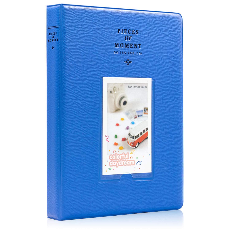 Blue 9 25 26 50s 70 90 Instant Camera /& Name Card Ablus 120 Pockets Mini Photo Album for Fujifilm Instax Mini 7s 8 8