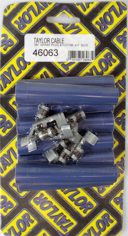 135/° Black Spark Plug Boot//Terminal Kit 46005 Taylor Cable