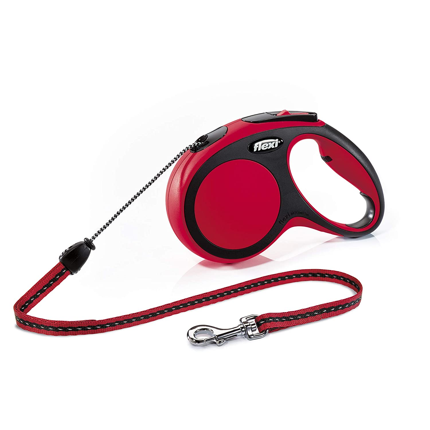 12 kg Small flexi New Comfort Leash Red
