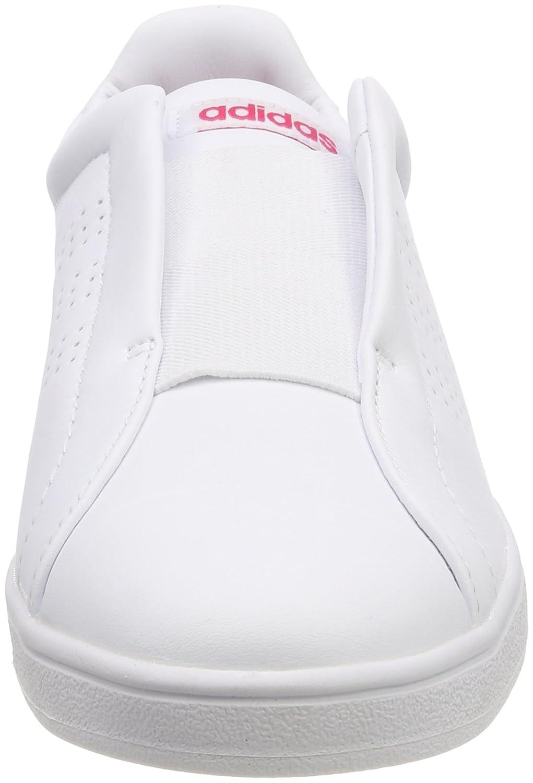 Footwear Adidas Adapt White Bianco Fitnessschuhe Damen Advantage vr7wxqrXU
