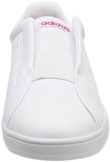 adidas Damen Advantage Adapt Fitnessschuhe, Bianco Footwear WhiteBold Green