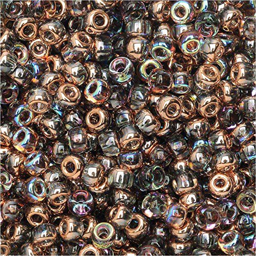 BeadSmith Unions Crystal Copper Rainbow