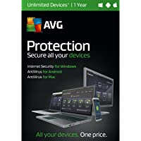 AVG TECHNOLOGIES Performance Security, Unlimited Devices 1 Year