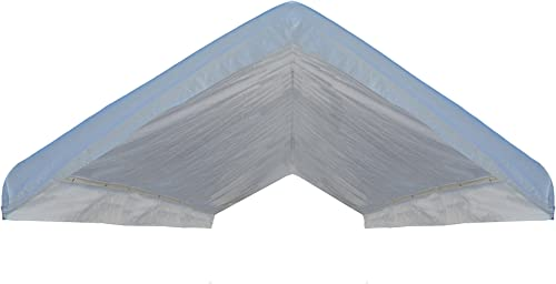 10×20 Replacement Canopy Top Cover Outdoor Party Canopy Roof Tarp White