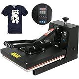 "F2C 15"" x 15"" Black Digital Clamshell Heat Press Transfer T-shirt Sublimation Machine (15""x 15"" black)"