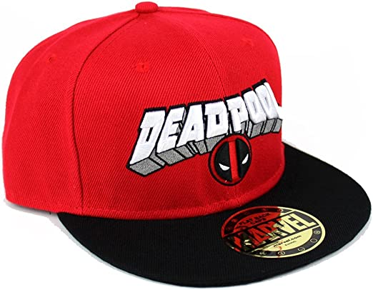 Deadpool Marvel Comics Hombre Gorra – Logo And Target Gorra de ...