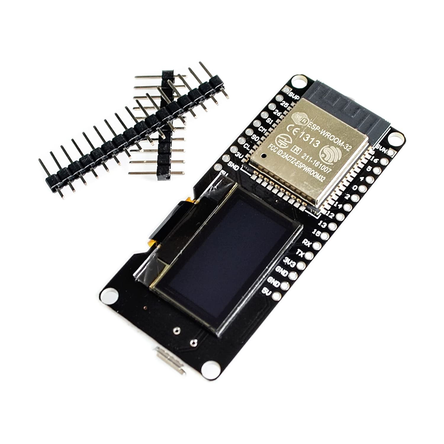 LIGHTHINKING ESP32 OLED WiFi Modules+ Bluetooth Dual ESP-32 ESP-32S ESP8266 &OLED ESP32 OLED for Arduino: Amazon.com: Industrial & Scientific